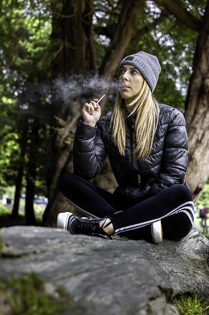 Les fuites avec la cigarette électronique sont possibles